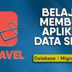 database dan migrations laravel CRUD